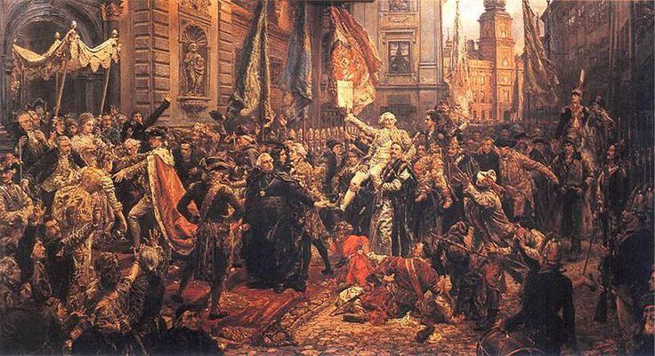 Jan Matejko - Konstytucja 3 maja