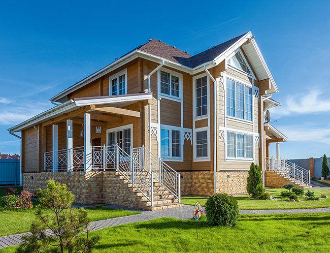 Дом из клееного бруса от компании «Строй Хауз» | Дома из клееного бруса | Журнал «Деревянные дома»