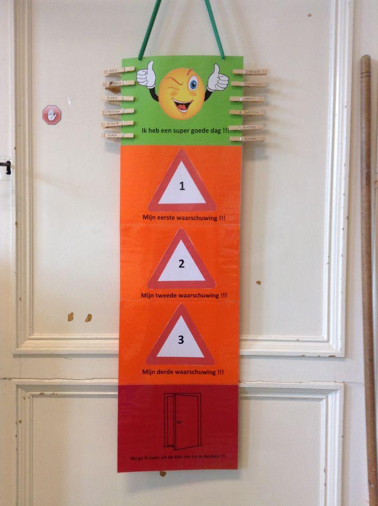 Beloningssysteem.. Op groen = stempeltje op 10-stempelkaart.. Vol = iets kiezen uit de grabbeldoos..