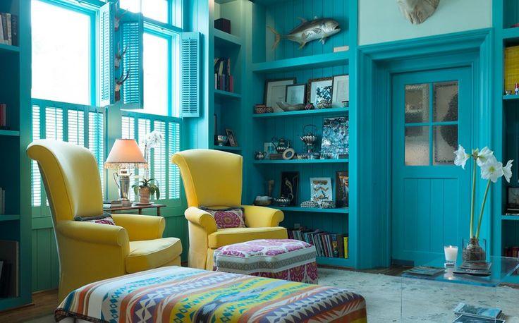 Real Houses Of Big City Texas: House 1 (Houston, TX) — Living Room