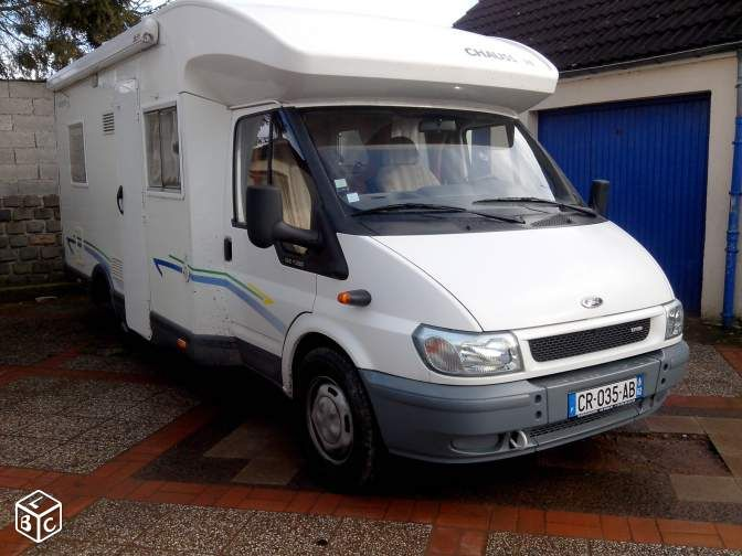 Camping car chausson welcom 74