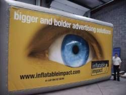 We can make the banners to your specification in most sizes right up to huge building PVC/Mesh banner wraps or to fit one of our various banner stands or frames. Our PVC banners and vinyl banners come completely finished with eyelets and hemmed. You can have a banner of virtually any height and any length. http://www.vistabanners.co.uk/pvc-banners/