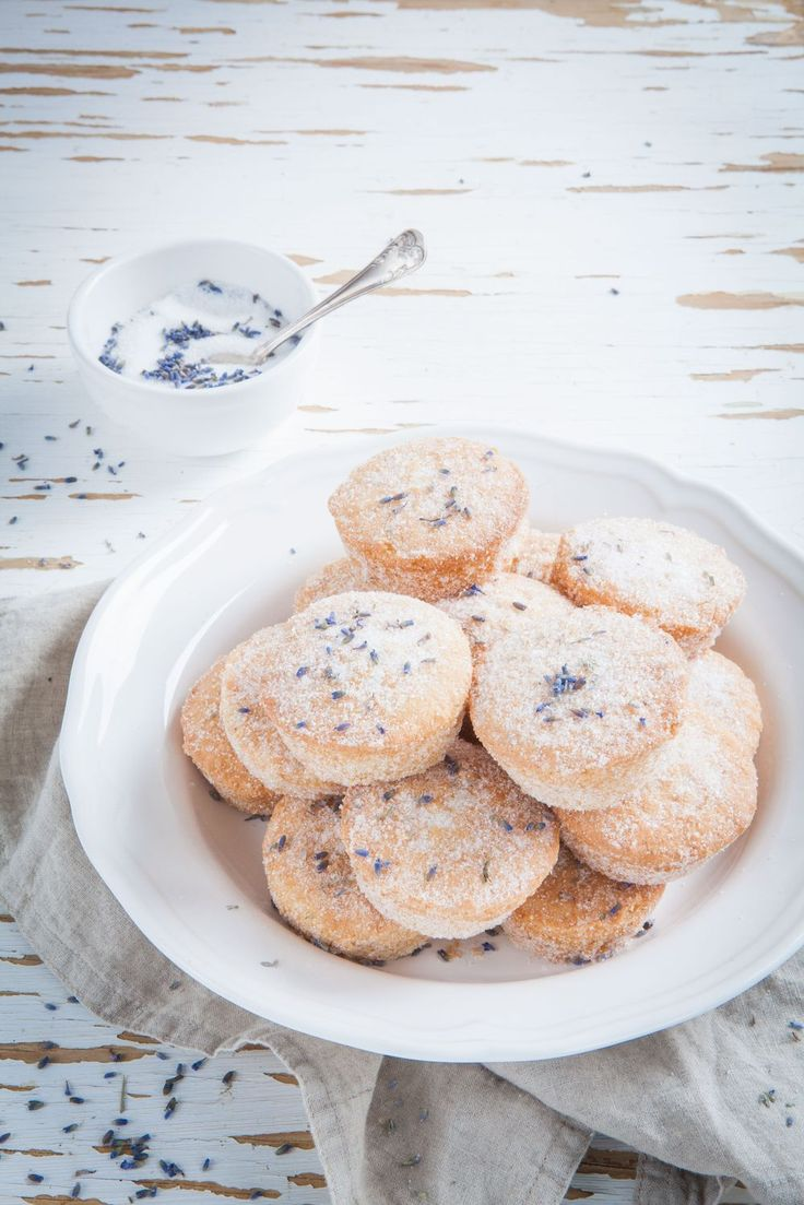 Cupcakes with Lavender Sugar