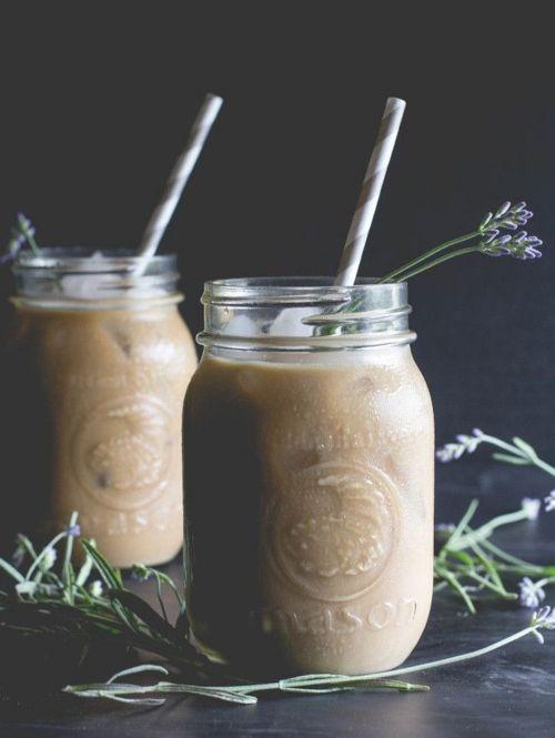 De klassieker: iced coffee in een Mason Jar
