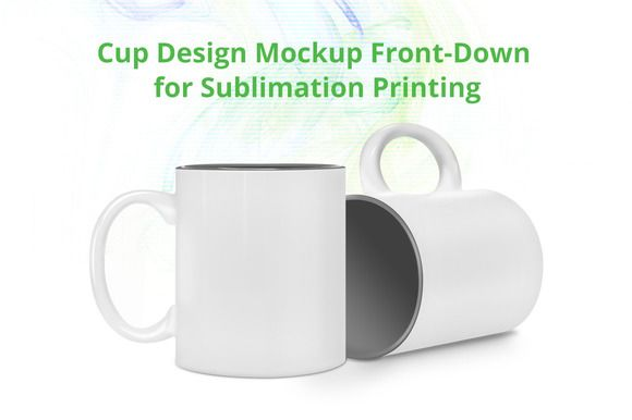 Cup Design Mock-up template by VecRas on @creativemarket
