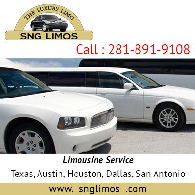 """SNG LIMOS"" Airport Transportation, 24 hr Limo Service Spring Houston Tx .  http://www.snglimos.com/airport-limo-service-austin-texas.php?8-6"