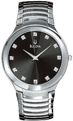 Bulova Men's Diamond Watch 96D10