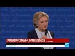 Débat présidentiel US : Hillary Clinton s'exprime sur la situation en Syrie