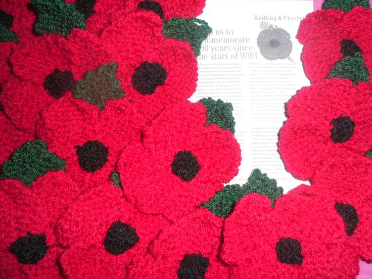 Knitted Poppy Pattern For British Legion : 17 Best images about Completed Creative Projects on Pinterest Coats, Orphan...