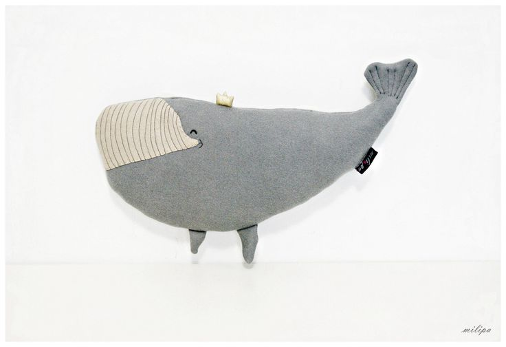 DIANA - WHALE PRINCESS whale plush stuffed whale stuffed animal whale pillow whale cushion Kids Gift Ideas Baby Toys 17''/10'' (43cm/25cm) by milipa on Etsy https://www.etsy.com/listing/210379090/diana-whale-princess-whale-plush-stuffed