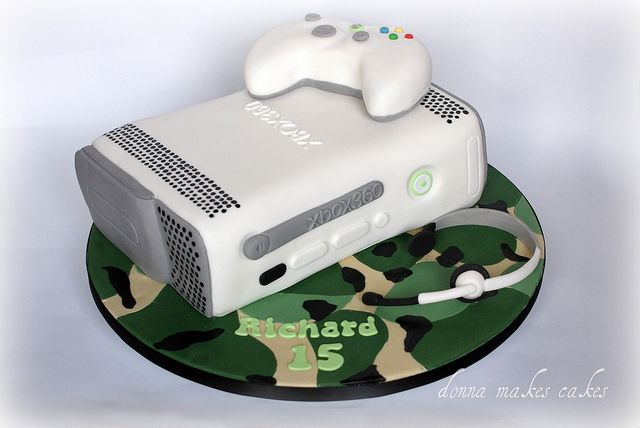 Xbox 360 cake | Flickr - Photo Sharing!