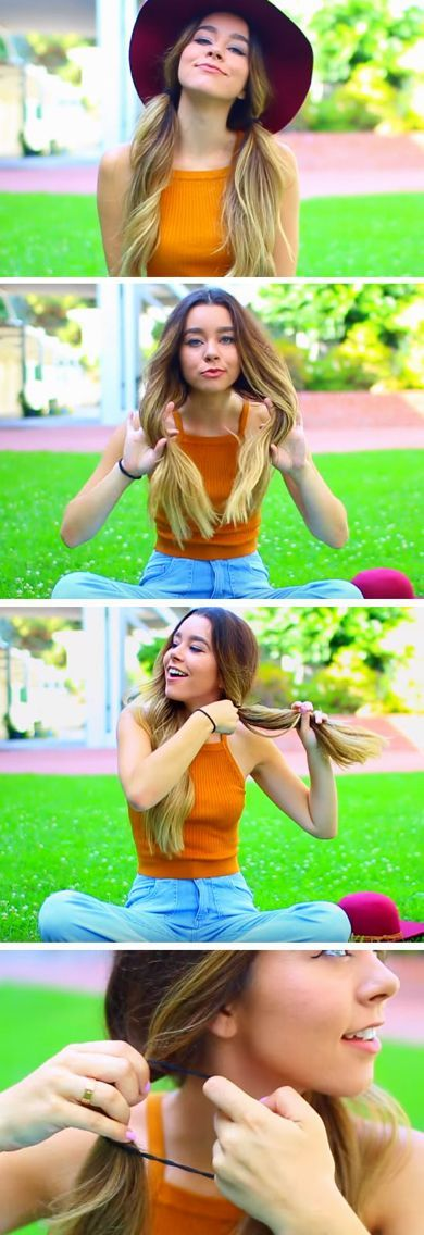 Sassy Pigtails | Quick and Easy Back to School Hairstyles for Teens