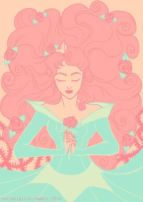taijavigilia:  4/18colour scheme prompt - Sleeping Beauty for ally-gator91