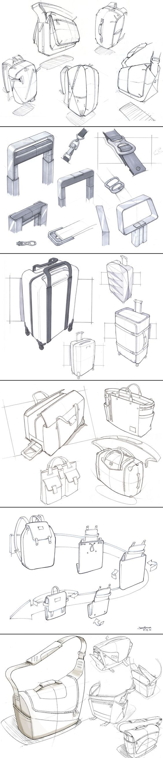 Some assorted hand sketches. Josh Buller - created via http://pinthemall.net: