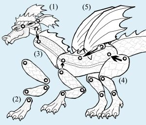 Dragon Puppet Instructions. This looks like fun :)