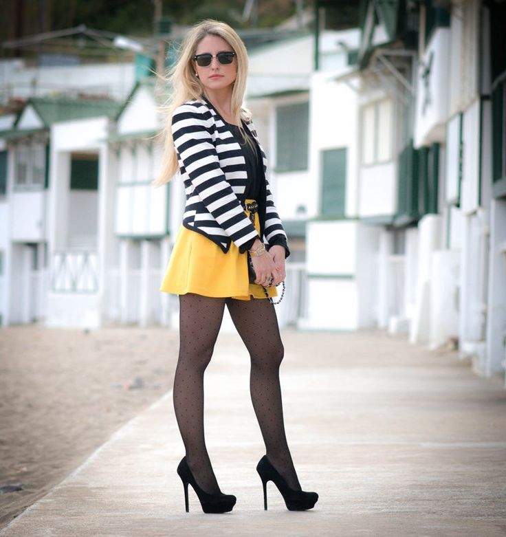 Find and save ideas about White blazer outfits on Pinterest. | See more ideas about Work fashion, Blazers clothing and Polka dot going out dresses. Women's fashion. White blazer outfits I've got the black pants but no black skirt. Need white blazer, love/need the blue button blouse. Double denim and a white blazer to freshen it up a bit.