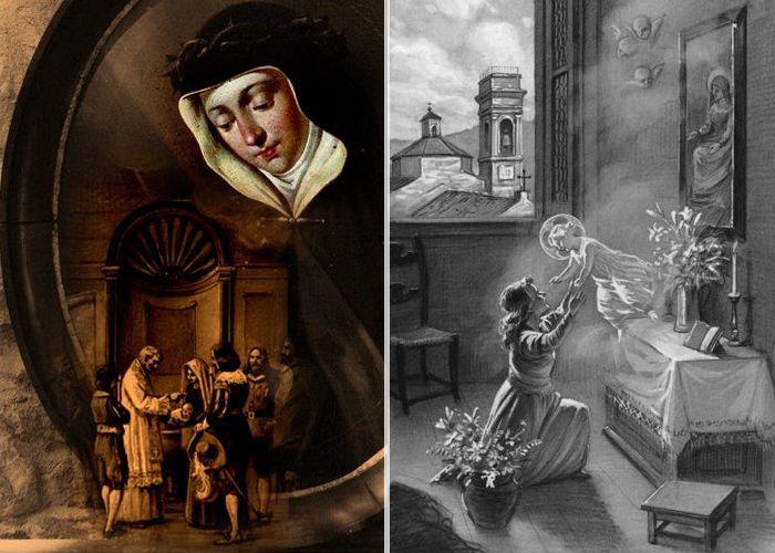 طفولة القديسة فيرونيكا جولياني
