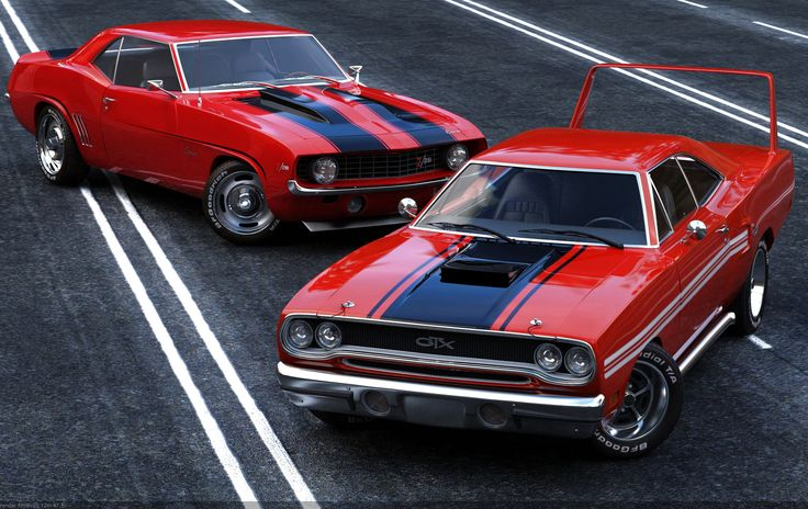 Red Muscle Car - Don't mess with auto brokers or sloppy open transporters. Start a life long relationship with your own private exotic enclosed transporter. http://LGMSports.com or Call 1-714-620-5472 today
