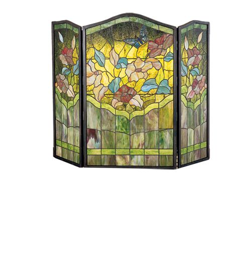 21 Best Fireplace Screens Stained Glass Beveled Glass Flat Screens Folding Fire Screens
