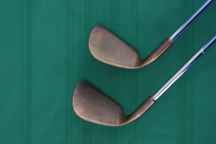 Ping Eye 2 Copper Lob & Sand Wedge - Square Grooves - matching #'s engraved  #Ping