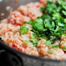 Basic Mexican Rice II Recipe   recipes   Pinterest