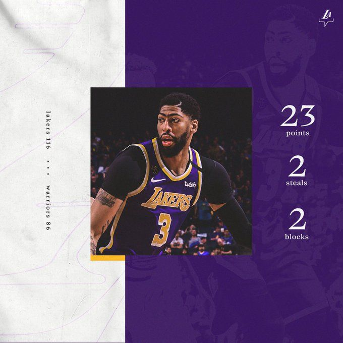 Taking Care Of Both Sides Of The Floor C Los Angeles Lakers In 2020 Trend Sport Sports News Lakers
