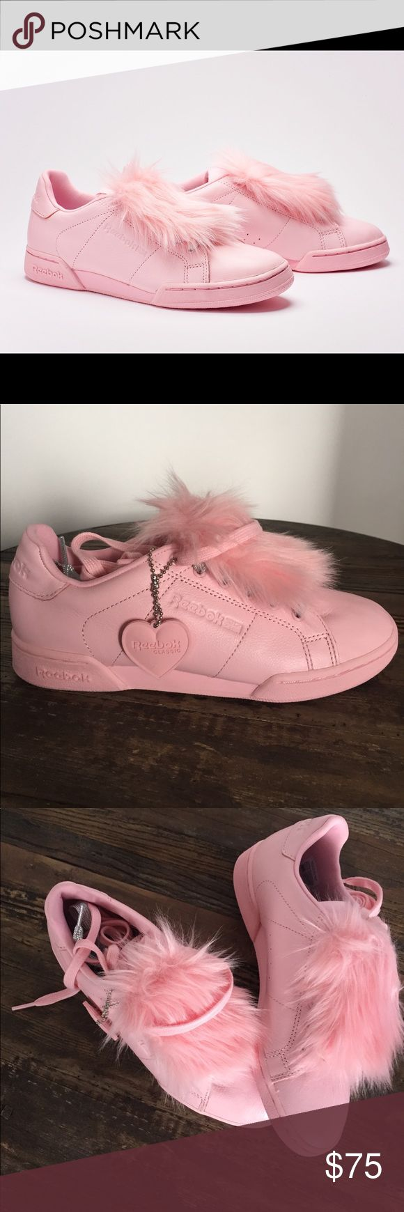 Reebok X Local Heroes NPC - Pink Limited Edition Rebook X Local Hidden Heroes NPC ll NE. Faux fur and removable tongue. Reebok Shoes Sneakers