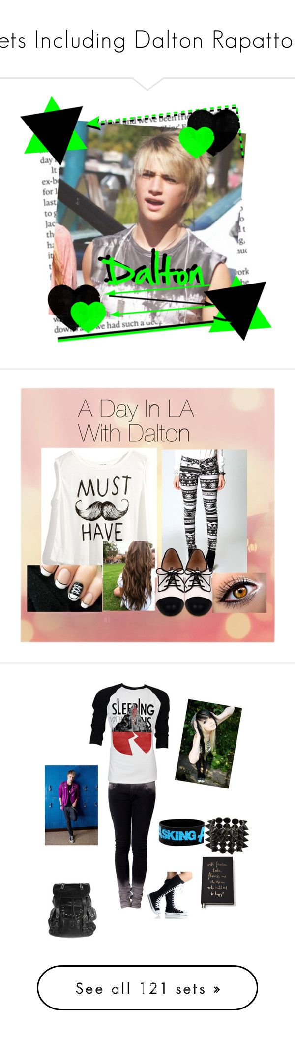 """Sets Including Dalton Rapattoni"" by dalton-rapattoni-outfits-imagine ❤ liked on Polyvore featuring art, Le Bunny Bleu, im5, dalton rapattoni, Retrò, Kate Spade, Eddie Borgo, Dorothy Perkins, Report and Blonde + Blonde"