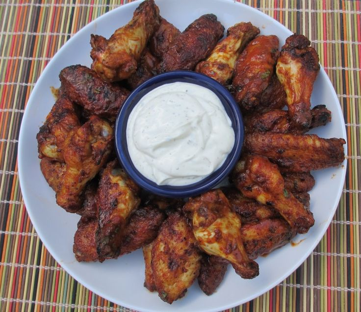 These fire-eater chicken wings from Steven Raichlen are absolutely amazing. Yes, they have some kick, but it's not overwhelming at all. They're perfect.
