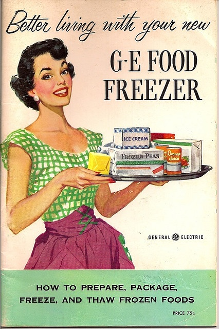 By Deluxx. The advertisers were brilliant back then...I seriously feel so happy when I see all these smiling faces in these ads from the 50s!