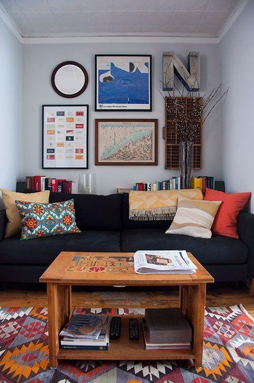 Como decorar sala pequena em 20 fotos e ideias inspiradoras
