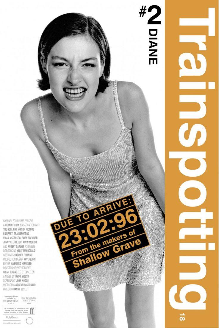 Film4 Kelly Macdonald Trainspotting Poster