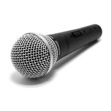 no music without a microphone