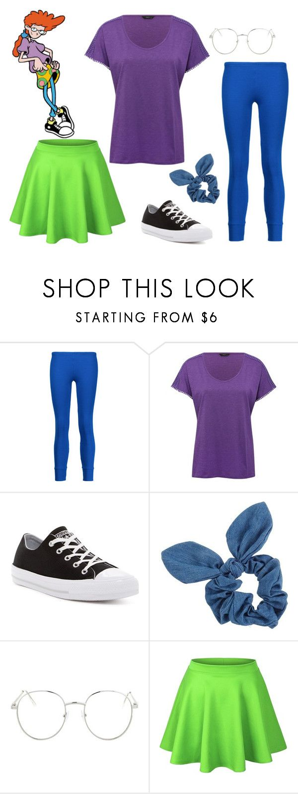 """Pepper Ann"" by sassyladies ❤ liked on Polyvore featuring Y-3, M&Co, Converse, Dorothy Perkins and Topshop"