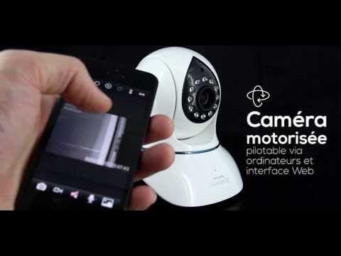 La caméra de surveillance SmartCam HD de Novodio est à la portée de n'importe qui, tant par son prix que par son incroyable simplicité d'installation !  Accessible en Wi-Fi ou via une connexion mobile, elle est multiplateforme (Mac, PC, Android et iOS) et permet de surveiller votre bureau/maison, même si vous vous trouvez à l'autre bout du monde !  Distribuée en exclusivité par MacWay : http://www.macway.com/fr/selection/25714