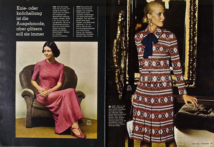 Burda Moden 11.1971 in Libros, revistas y cómics, Revistas, Moda y estilo de vida | eBay
