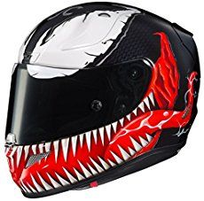 HJC Motorcycle Helmets – Spiderman & Venom After just putting up 100 of my favorite airbrushed helmets by Airgraffix, I noticed that there are a LOT of really cool spiderman style motorcycle helmet designs. What gives? Who knew that there are some many spiderman fans out there? Not me until recently. So of course, I …