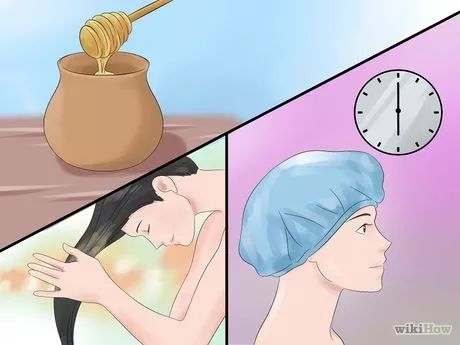 Image intitulée Lighten Naturally Black Coloured Hair at Home Step 1
