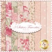 3 Sisters Favorites 9 FQ Set - Pink Set by 3 Sisters for Moda Fabric
