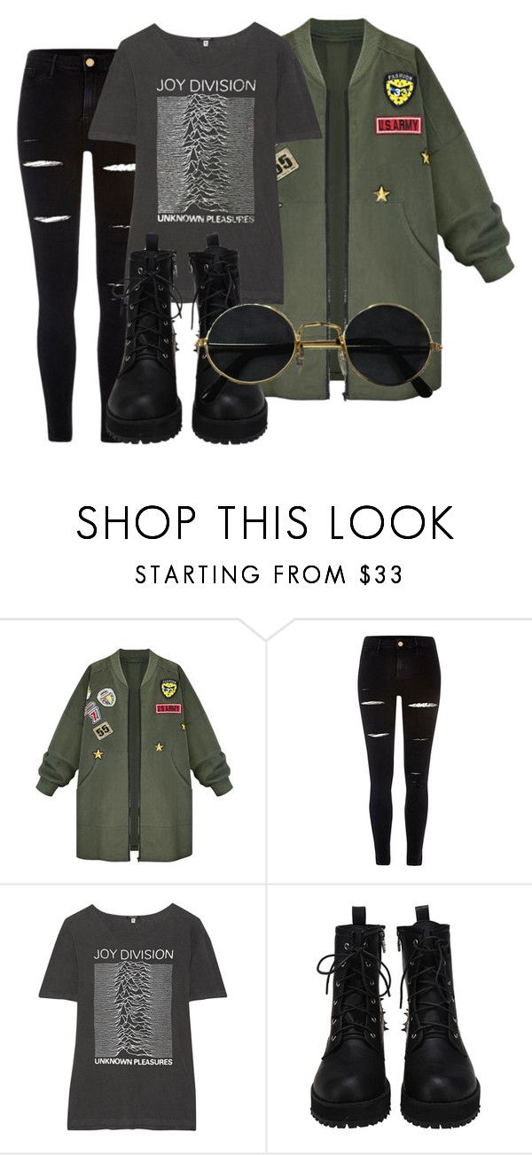 """style this trending item"" by xcheerio-kierox ❤ liked on Polyvore featuring WithChic, River Island and R13"