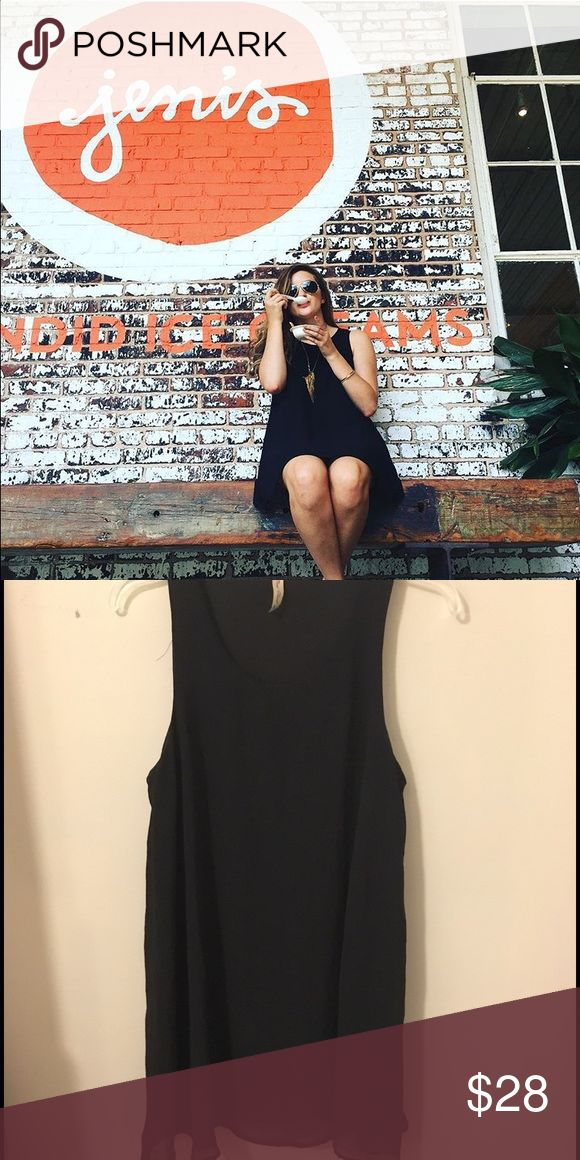 Perfect Little Black Dress - Chiffon The perfect basic simple LBD. Chiffon and lined. Dresses Mini