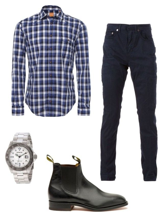 Bae by kate-rose-ellery on Polyvore featuring polyvore, fashion, style, Invicta, BOSS Orange, Neil Barrett, Craftsman and clothing