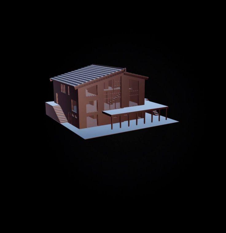 3D modellering under arbeid
