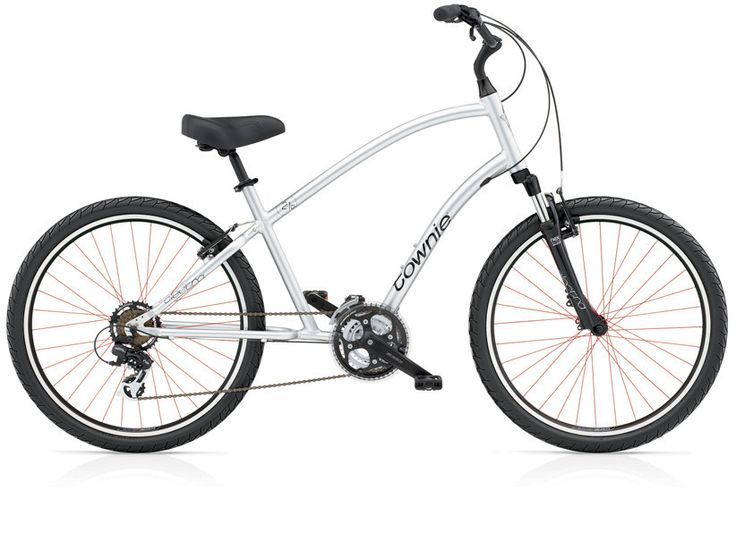 Aluminum frame + Electra's Flat Foot Technology + 21 Speeds = Full Comfort and Ride-ability. Enjoy the comfort of a cruiser and the power of a hybrid on the Electra Townie 21D. This bike is fitted wit