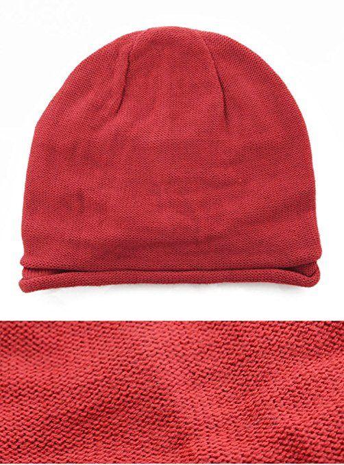 Amazon   ワイン F (ベストマート)BestMart サマーニット帽 メンズ ニット帽 ワッチキャップ 帽子 レディース 男女兼用 春 夏 秋 冬 618346-010-738   ニット 通販