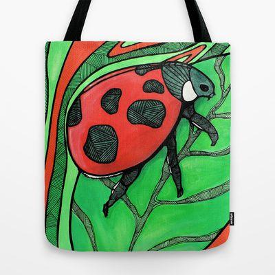 The LadyBug Tote Bag by Grillo Ramos - $22.00