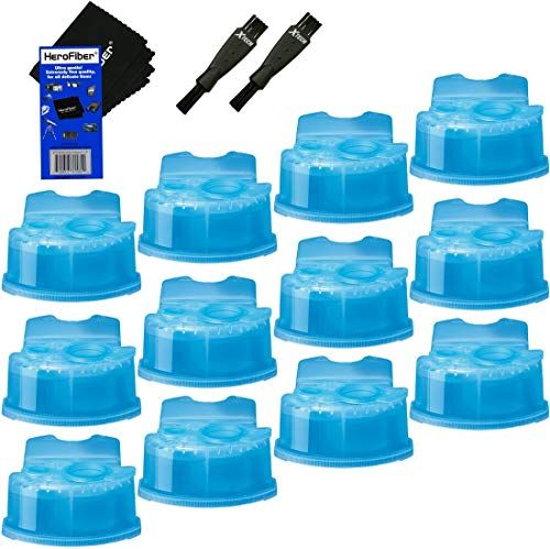 New Braun Clean Renew Refill Cartridges Replacement Cleaner Cleaning Solution 12 Pack For Series Braun Clean And Renew Gentle Cleaning Best Electric Shaver