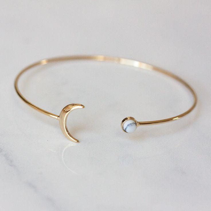 MOON & MARBLE DOT – Bracelet