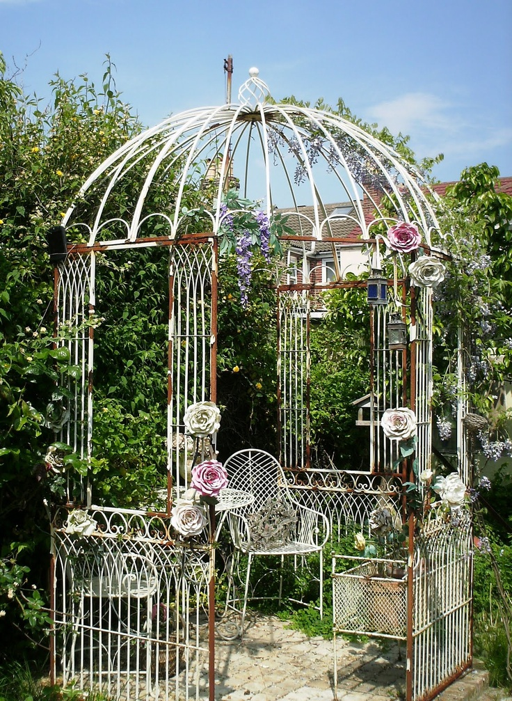 54 Best Images About Garden Wrought Iron Gazebo On