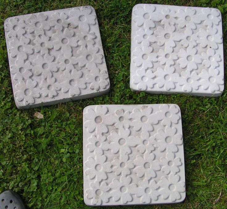 Casting items in concrete. Some fun ideas to decorate the ...
